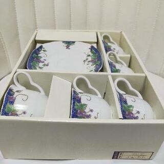 高級陶器コーヒカップ 4個セット − 東京都