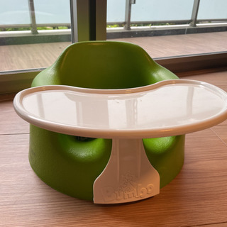 【ネット決済・配送可】Bumbo バンボ グリーン テーブル付き