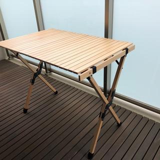 【ネット決済】ハイランダー ウッドロールトップテーブル H70