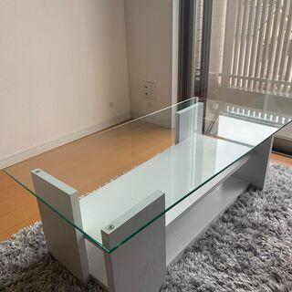 【ネット決済】ローテーブル 白 【幅 100cm】