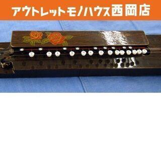 大正琴 5弦23鍵 Ⅲ号ローズ サフォー ハープ 西岡店