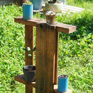 お庭や ベランダに、ガーデン棚 ガーデニング棚 植物飾り棚…