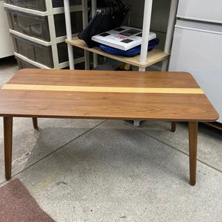 ウォールナット 折りたたみテーブル カフェテーブル ローテーブル