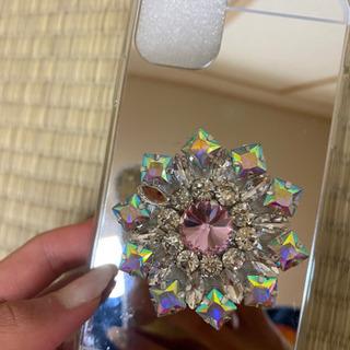 【ネット決済・配送可】iPhone11用スマホケース ビジュー ...