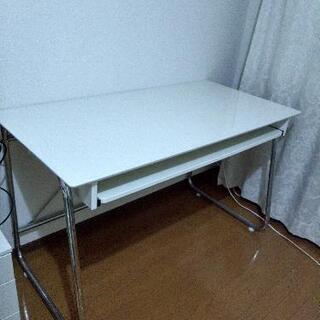 【緊急】パソコンデスク スライドテーブル付き 机