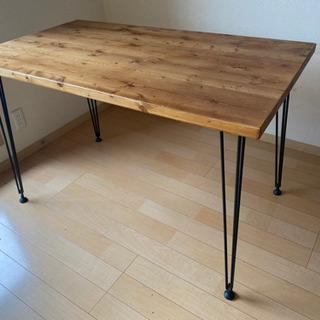 Lowya  [幅120] ダイニングテーブル(ライトブラ…
