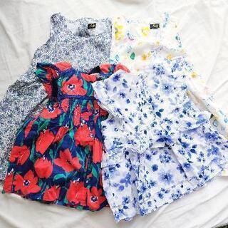【ネット決済】子ども服 女の子 洋服 100センチ セット