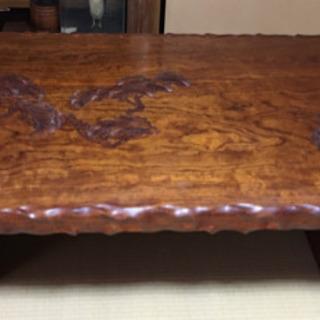 一枚板の木製テーブル 【相談中です】