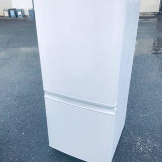 ♦️EJ1579B SHARPノンフロン冷凍冷蔵庫 【20…