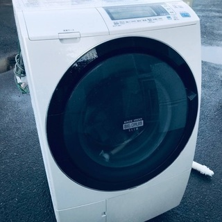 ♦️EJ1581B HITACHI ドラム式電気洗濯乾燥機…