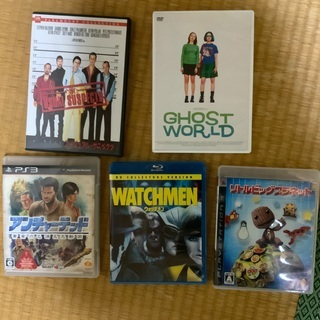 DVD、ゲームのセット