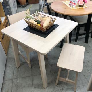 IKEA NORRÅKER ノッルオーケル ダイニングセット
