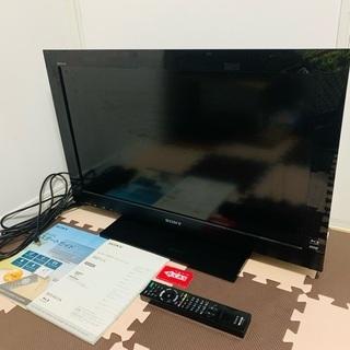 ブルーレイ内蔵液晶テレビ SONY BRAVIA KDL-32E...