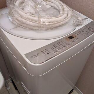 シャープ 全自動洗濯機  ES-GE7C 2019年製