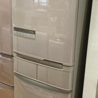 日立 5ドア冷蔵庫 415L 左開きドア 中古