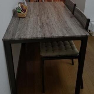 ⭐ 週末限定 無料⭐食卓&椅子セット