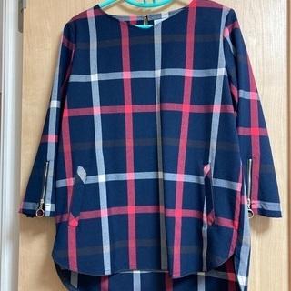 【ネット決済】ベルーナ カットソー 七分袖 Lサイズ