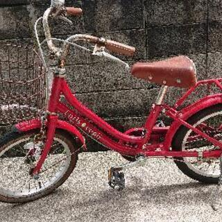 16インチ幼児用自転車