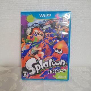 Wii ゲームソフト スプラトゥーン