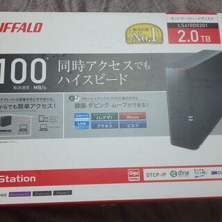 4TB換装! BUFFALO LS410D0201
