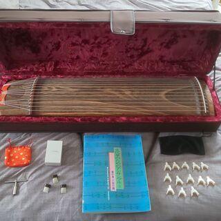 ゼンオン 文化琴  羽衣 13弦 ケース付き