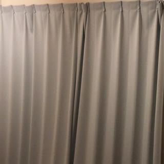 遮光カーテン 100×200丈 両開きセット