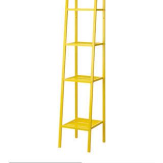 イケア 棚 黄色