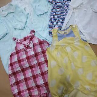 新生児用ベビー服 7枚セット