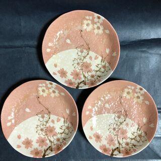 たち吉 小皿(桜) 3枚
