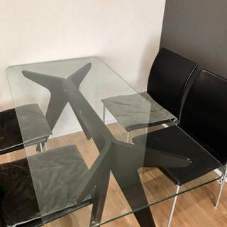 ダイニングテーブル&チェア3脚