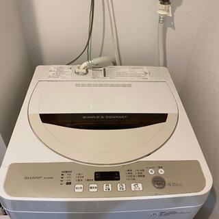 SHARP 洗濯機 4.5kg