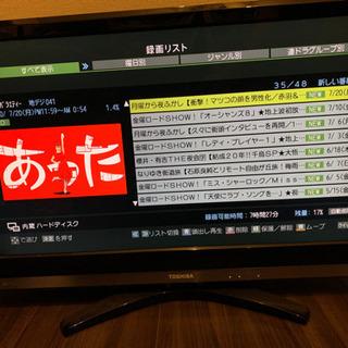 REGZA 液晶テレビ 37V