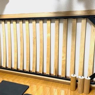 【ネット決済】無印良品の木製ベッドフレーム(ヘッドボードなし)