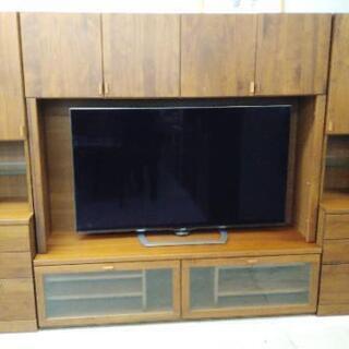 枠付きTVボード 4分割可能 253×44×180