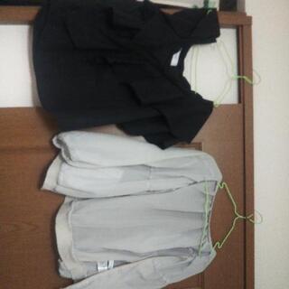 ほとんど着てない夏服BARAKとdiscoat
