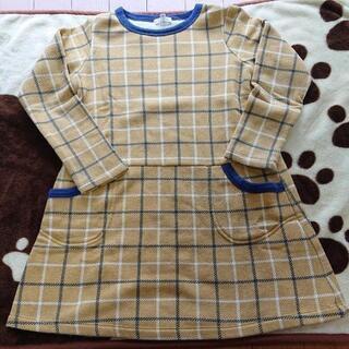セラフ 長袖ワンピース 120cm
