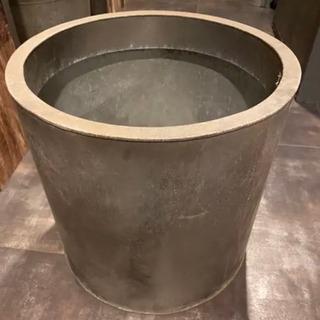大型 ブリキ 鉢カバー