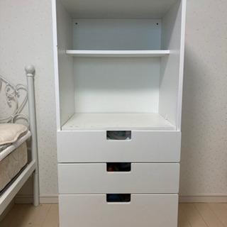 IKEA 子ども部屋衣装棚【STAUBA】