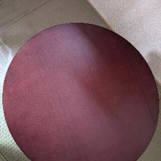 【ネット決済】ちゃぶ台 アジアンモダン卓 60センチ円卓 ローテ...