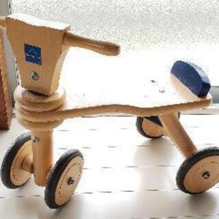 ボーネルンド 木製バイク 4輪車 3輪車 室内乗り物