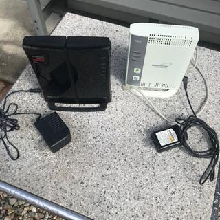 WIFI‼️無線LAN 家庭用ルーター‼️2台セット‼️早…