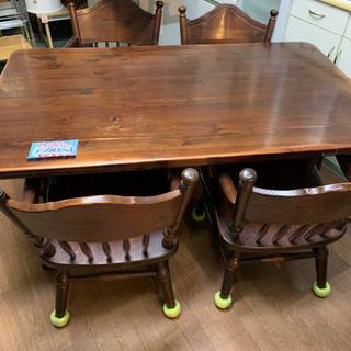 ☆特価☆ダイニングテーブル・椅子セット 現状品