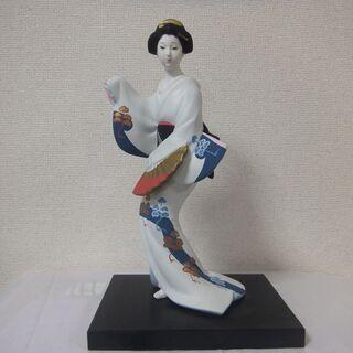 【昭和ビンテージその③】【日本人形】【ガラスケース付き(入り)】