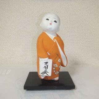 【昭和ビンテージその②】【日本人形】【ガラスケース付き(入り)】