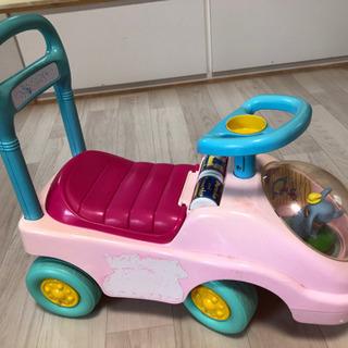 子供用乗用玩具ピンク