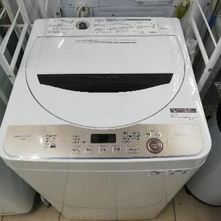 SHARP シャープ ES-GE6E 2021年製 6kg 洗濯機