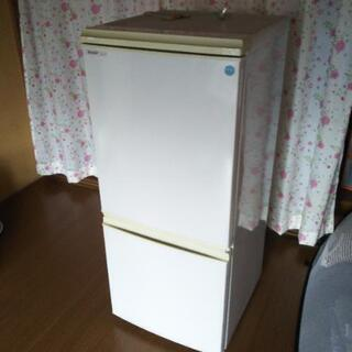 【引取】SHARP 冷蔵庫 可動品 135L 2008年製