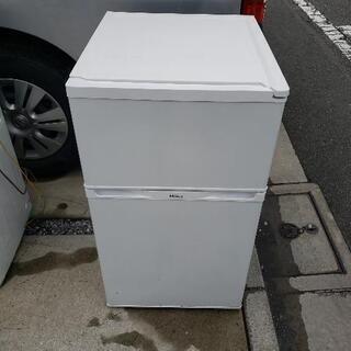 Haier 冷凍冷蔵庫 91L JR-N91J 2015年製 ホワイト