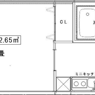 806号室☆敷金・礼金・仲介料【0円】紹介料★3万5千円アリ★2...