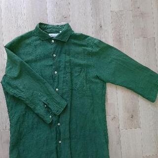 男物Lの七分シャツ